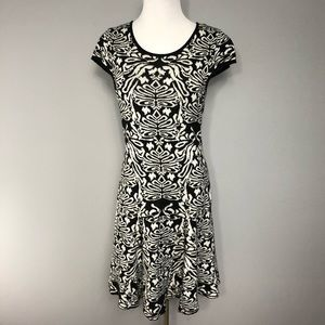 Elle A Line Sweater Dress M